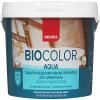 Пропитка для Древесины Neomid BIO Color Aqua 0.9л без Запаха, Деревозащитная для Внутренних и Наружных Работ / Неомид Био Колор Аква