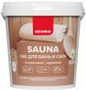 Лак для Бань и Саун Neomid Sauna 1л Акриловый, Сохраняет Натуральный Запах Древесины / Неомид Сауна