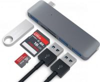 Концентратор Satechi Type-C USB Hub ST-TCUHM