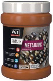Эмаль Металлик VGT ВД-АК-1179 1кг Серебро Универсальная, Акриловая без Запаха / ВГТ Металлик