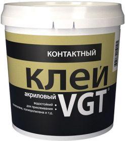 Клей Контактный ВГТ 0.9кг для Полиэтилена, Полипропилена Акриловый