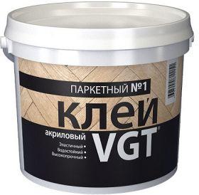 Клей для Паркета VGT Паркетный №1 12кг Акриловый / ВГТ Паркетный №1