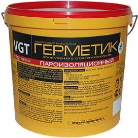 Герметик Акриловый Пароизоляционный VGT 7кг Белый для Внутренних Работ / ВГТ