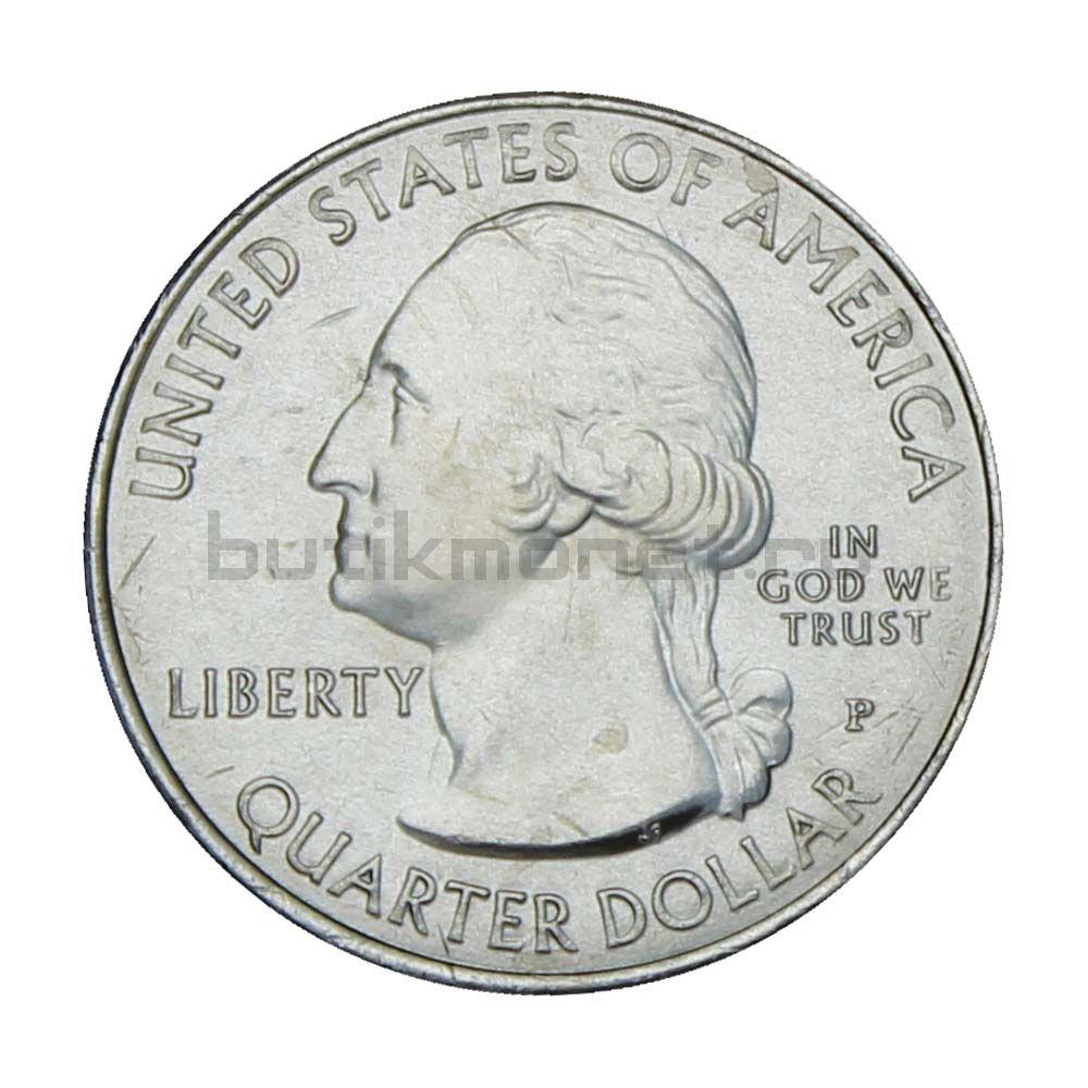 25 центов 2020 США Национальный заказник Таллграсс Прейри P