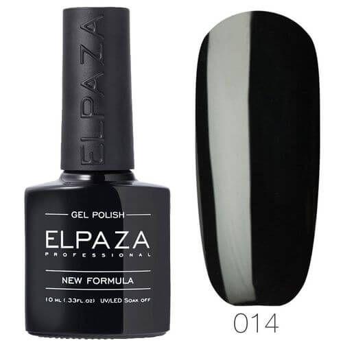 ELPAZA ГЕЛЬ-ЛАК № 014, Истинно черный  10 мл
