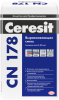 Смесь Выравнивающая Ceresit CN 178 25кг от 5 до 80мм для Внутренних и Наружных Работ / Церезит СН 178
