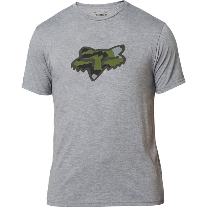 Fox Predator SS Tech Tee Heather Graphite футболка