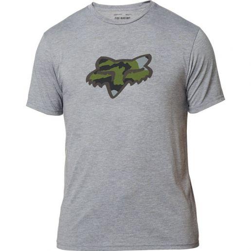 Fox Predator SS Tech Tee Heather Graphite футболка