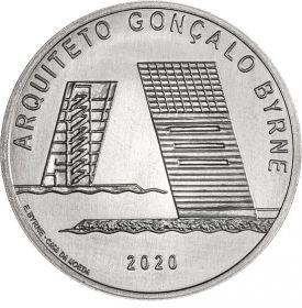 Португальский архитектор  Гонсалу Бирн 7,5 евро Португалия 2020 на заказ