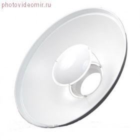 Портретная тарелка с сотовой насадкой Visico RF-550 KIT черно-белая с креплением Bowens