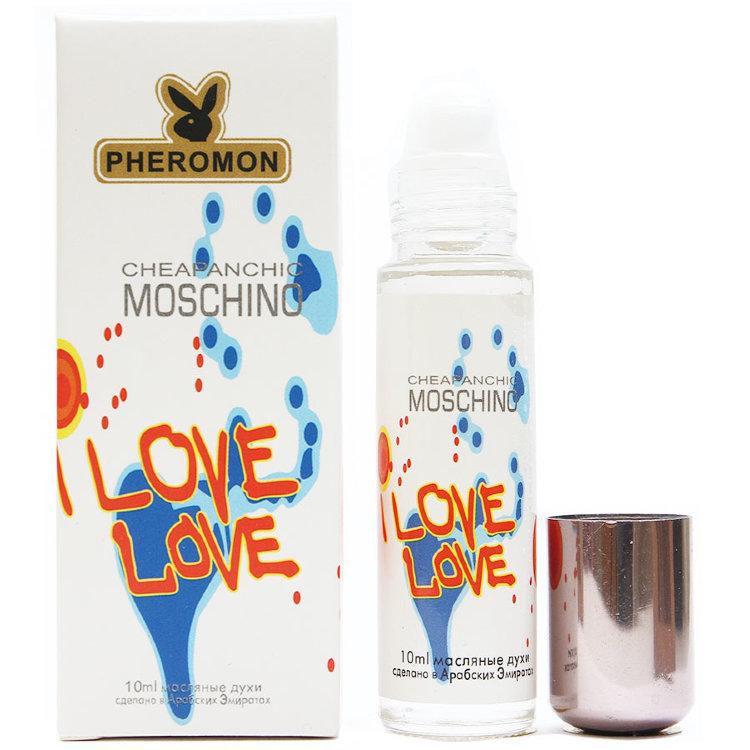 Масляные духи с феромонами Moschino I Love Love 10ml