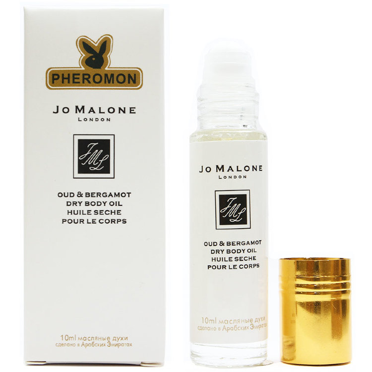 Масляные духи с феромонами Malone Oud & Bergamot 10ml