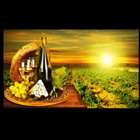 Картина на холсте Искусство виноделия