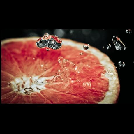 Картина на холсте Освежающий грейпфрут