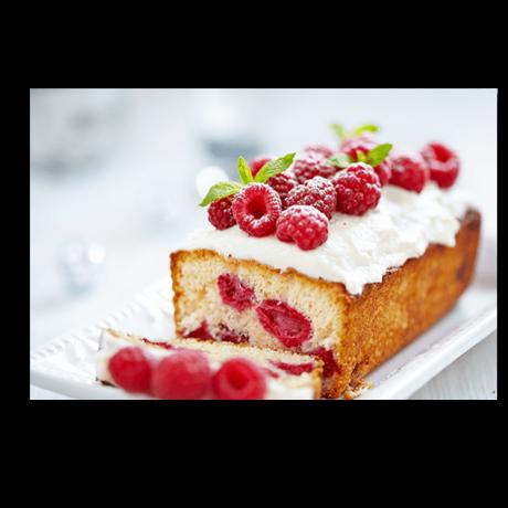 Картина на холсте Бисквит с лесными ягодами