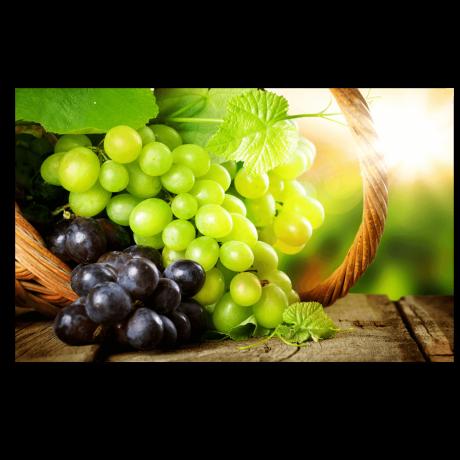 Картина на холсте Корзина с виноградом