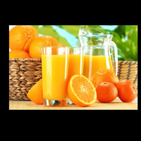 Картина на холсте Апельсиновый фреш