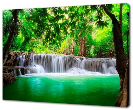 Картина на холсте Восхитительный водопад