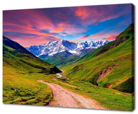 Картина на холсте Горная дорога