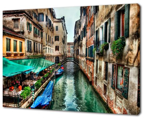 Картина на холсте Улочка Венеции