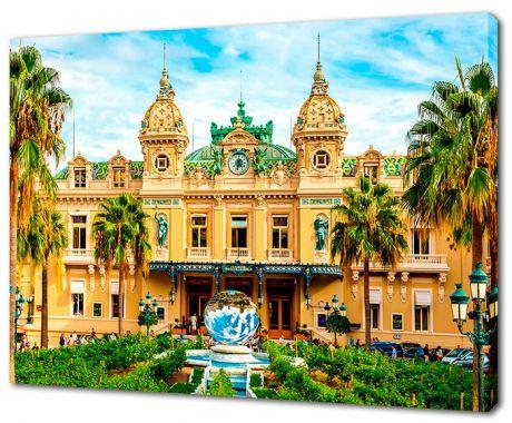 Картина на холсте Казино Монте-Карло