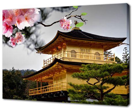 Картина на холсте Японская минка