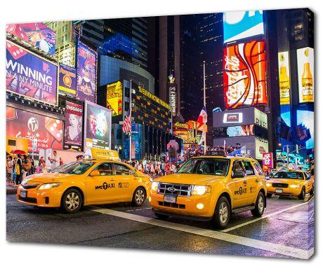 Картина на холсте Улицы Нью-Йорка