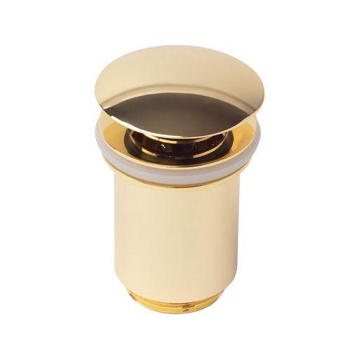 Донный клапан Kaiser 8011 автомат ф32 золото