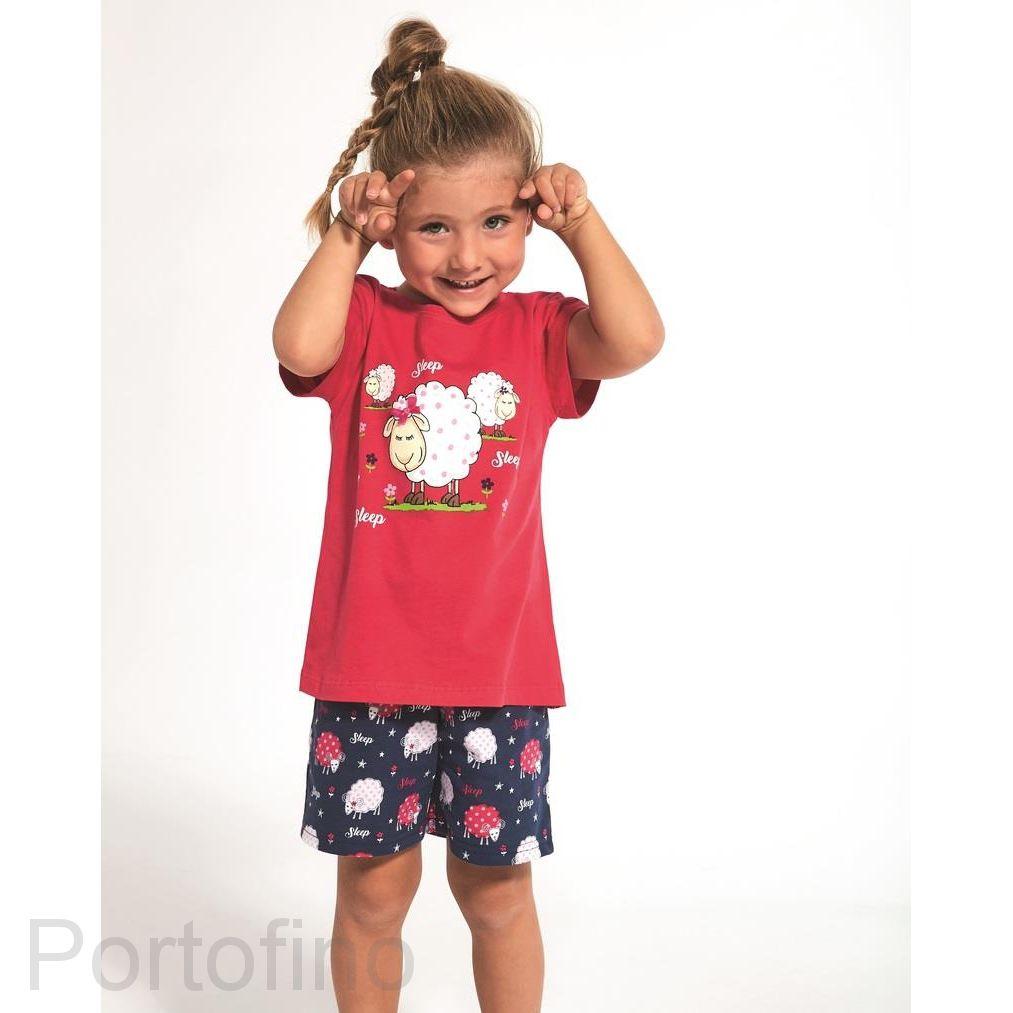 787-72 Пижама для девочки короткий рукав