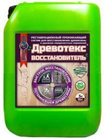 Отбеливатель Древесины Краско Древотекс Восстановитель 10л для Восстановления Древесины