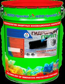 Грунт для Системы Жидкая Кровля Краско Гидролон-Грунт 20л Полиуретановый, Высокоадгезионный, Быстросохнущий