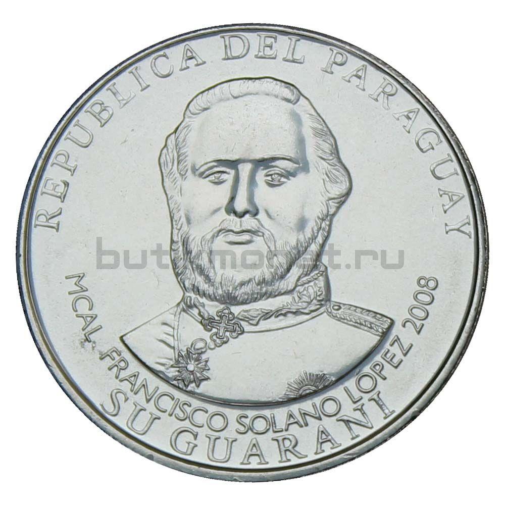 1000 гуарани 2008 Парагвай