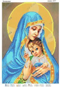 ЮМА ЮМА-3371 Богородица схема для вышивки бисером купить оптом в магазине Золотая Игла - вышивка бисером
