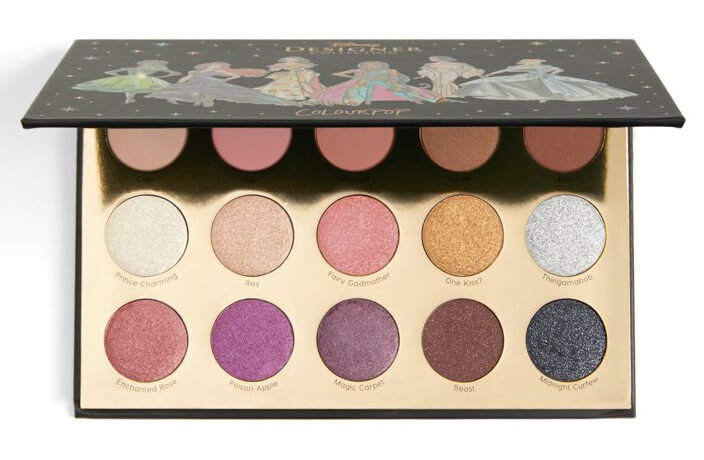 Палетка теней ColourPop  It`s a Princess Thing Disney