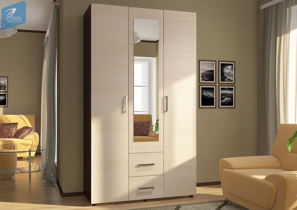 Шкаф 3х створчатый ЭВА ШК-019