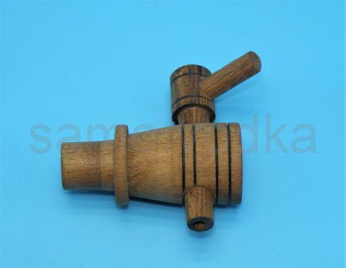 Кран деревянный (дубовый) для бочки
