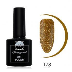Гель-лак LunaLine 178 — золотой янтарь