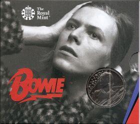 Дэвид Боуи 5 фунтов Великобритания 2020 Серия «Легенды музыки»
