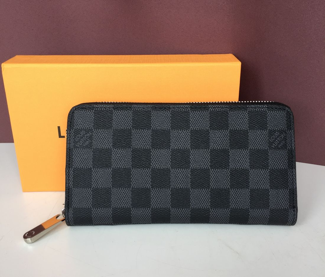 Кошелек Louis Vuitton Zippy Damier Graphity Canvas