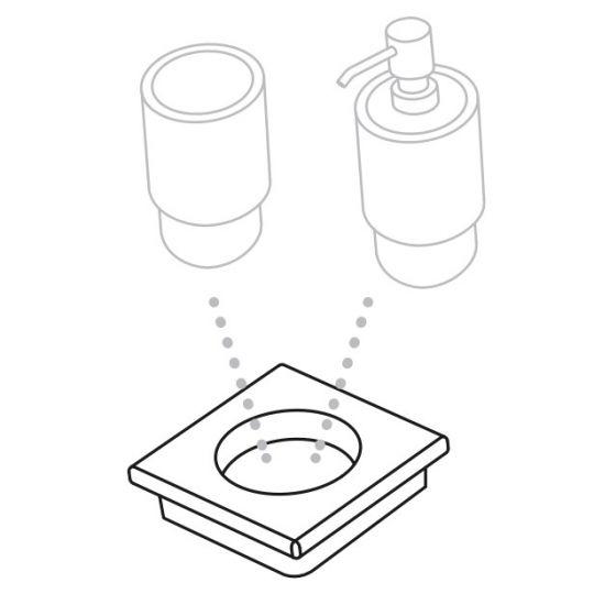 Cielo Подставка под стаканчик/дозатор ACMP4 (12 см)