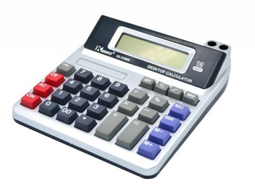 Калькулятор Kenko KK-3388B (12 разр.) настольный