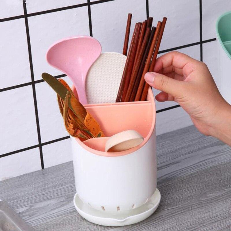 Сушилка для столовых приборов - цвет розовый