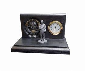 Настольные часы «Отец народов- И.В. Сталин»