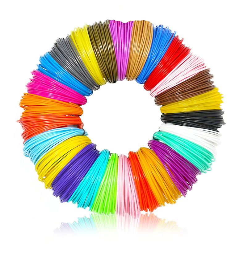 Набор пластика для 3D ручки 5 м, 40 цветов
