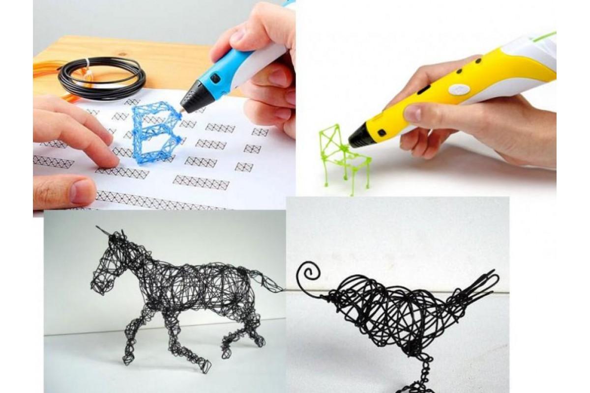 Набор для Рисования в 3D  I do 3D Vertical - 4 ручки