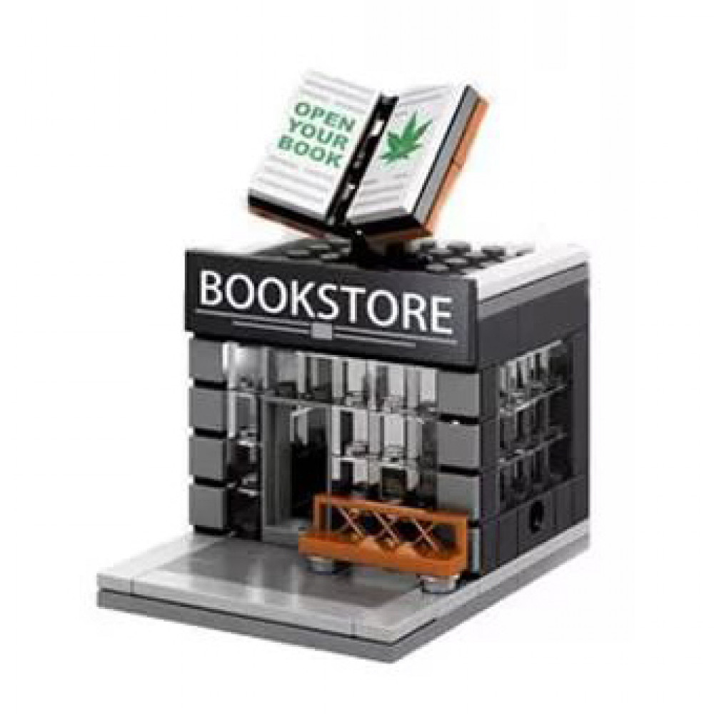 Конструктор Block Mini World - Book Store - Книжный магазин