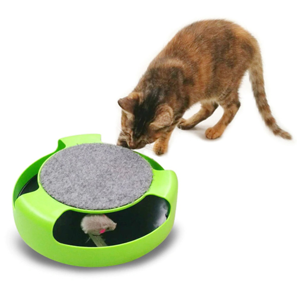 Интерактивная игрушка для кошек Поймай Мышку