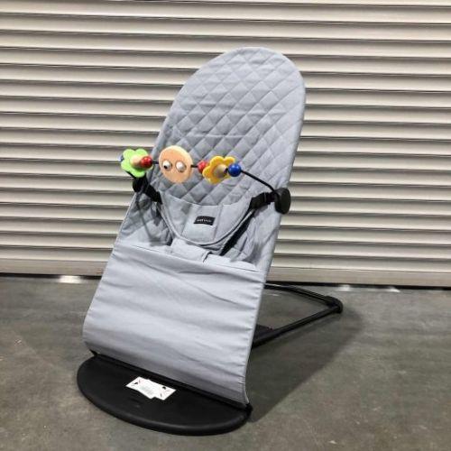 Шезлонг Babybalance серый