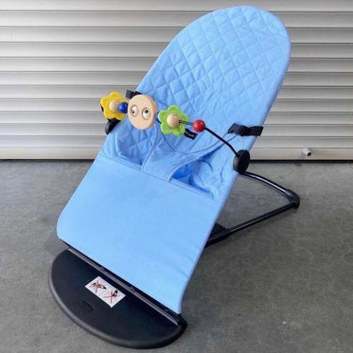 Шезлонг Babybalance голубой