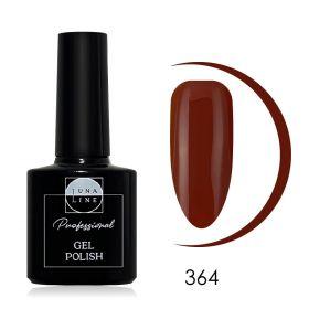 Гель-лак LunaLine 364 — темный кирпич